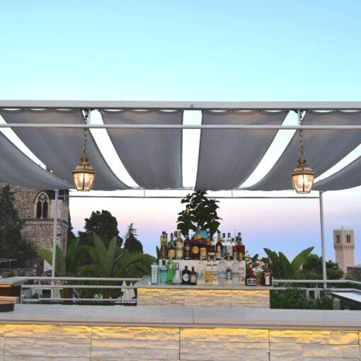 Rooftop view Sky Bar Taormina